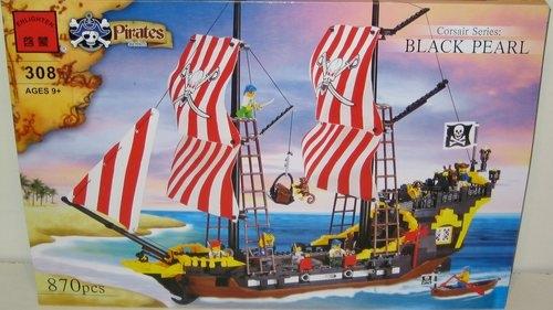 Конструктор Брик: Пиратский